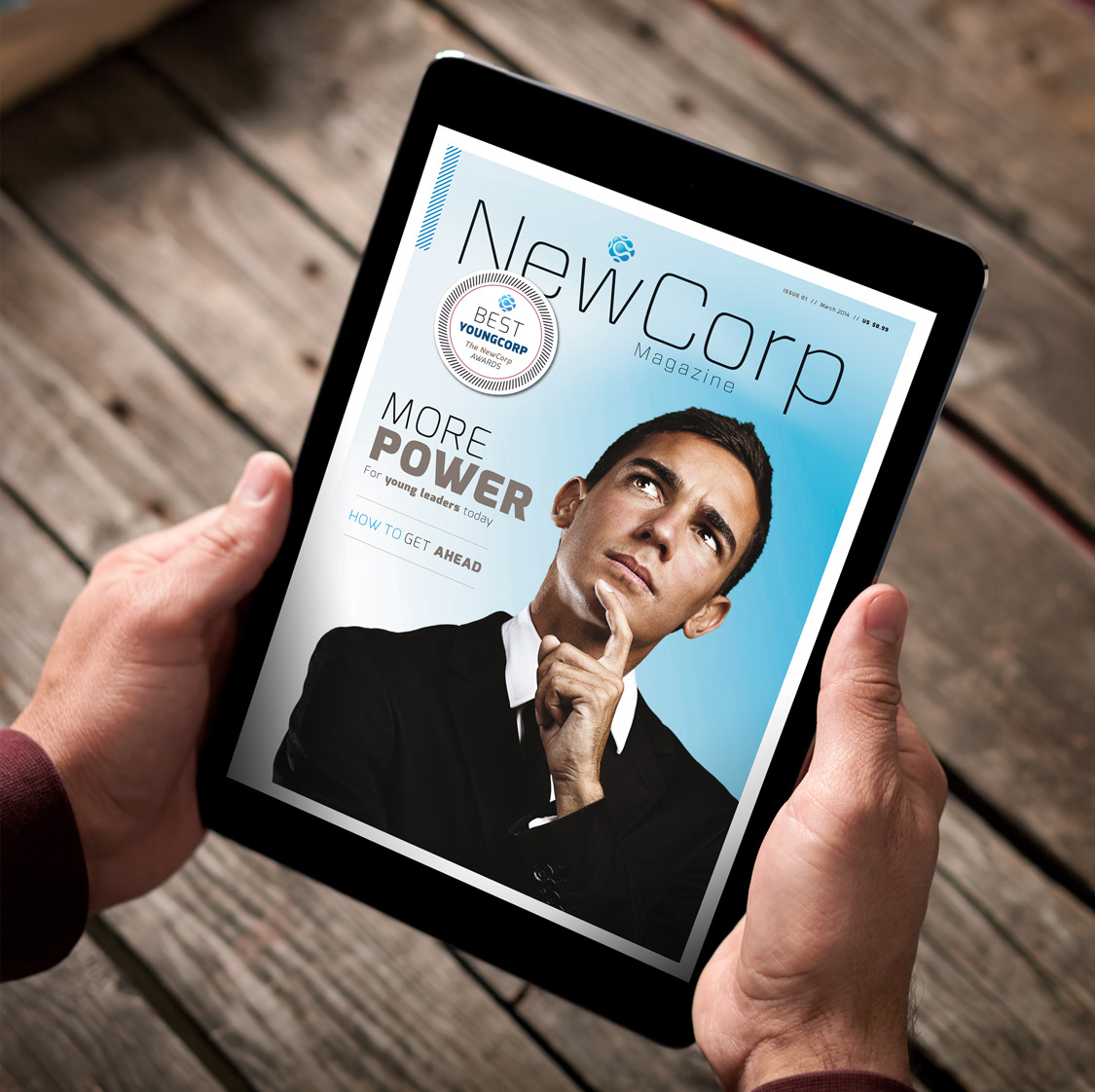 NewCorp / Young Corporate Magazine