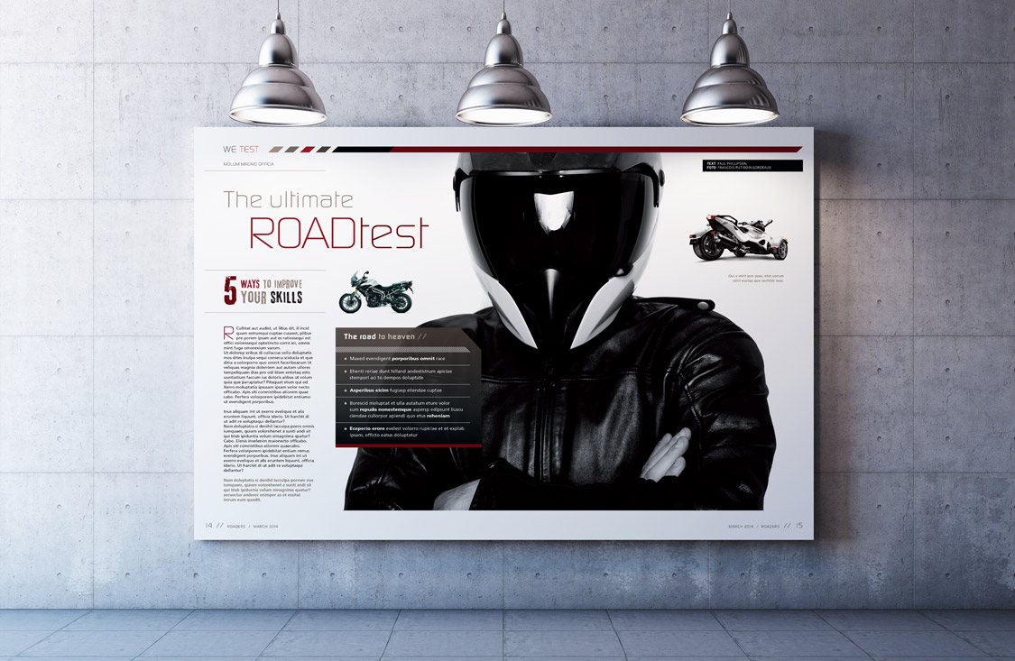 Roaders / Biker Magazine – Mostly for Men